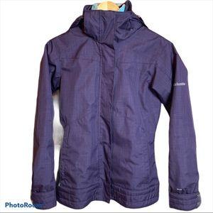 Columbia Purple Interchange Omni-Shield Winter Jacket Size XS (Flawed)